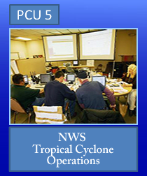 PCU 5: NWS Tropical Cyclone Operations